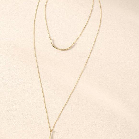NWT Stella & Dot - Kari Layered Necklace